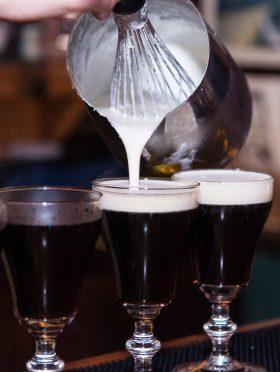 The Dead Rabbit Irish Coffee at The Bloomsbury Club Bar